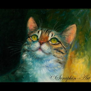 2014-06-201 Cat Oil Painting