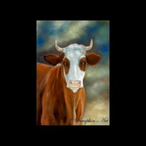 Cow Drawing & Paintings